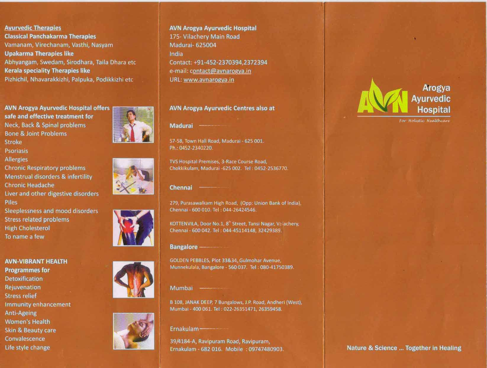 Inauguration of AVN Arogya Ayurvedic Hospital complex saffron